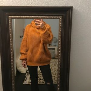 Chunky Ginger sweater🧡